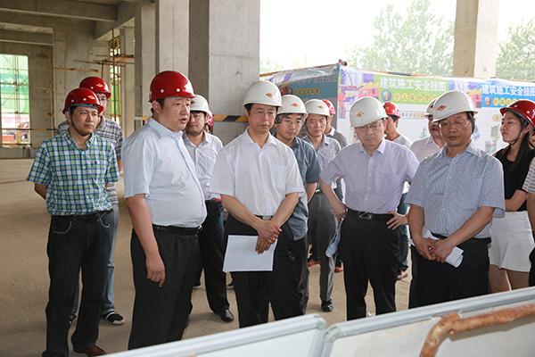 一行赴陕西液化天然气投资发展有限公司工程建设现场调研指导工作